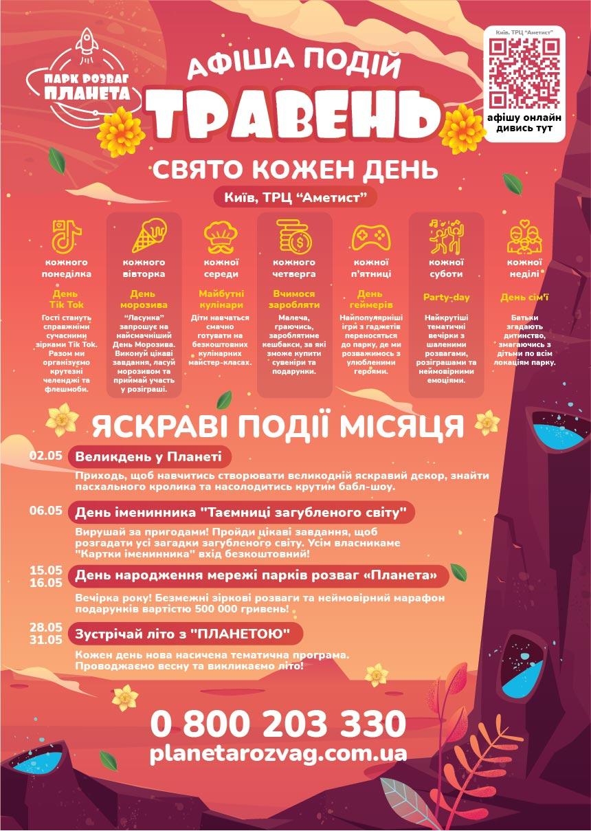 Київ - Афіша травня